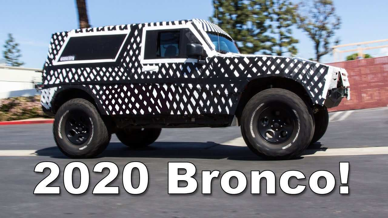 98 The 2020 Ford Bronco Youtube Performance And New Engine
