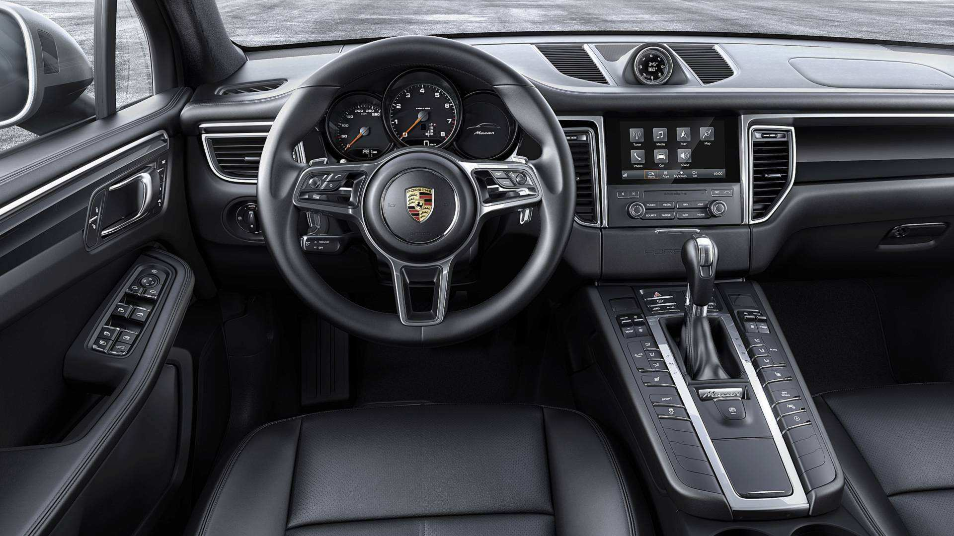 99 A 2019 Porsche Macan Interior Engine