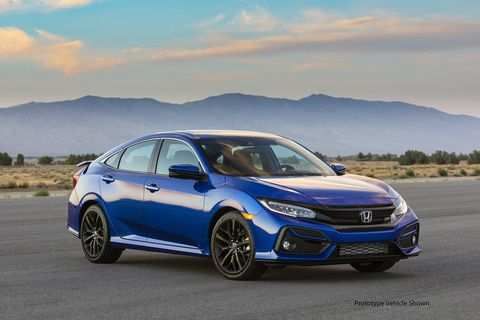 99 A Honda Si 2020 Speed Test