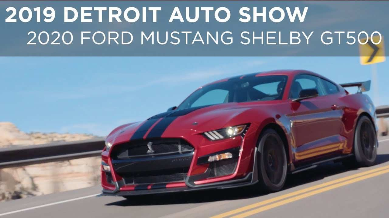 99 All New 2019 Ford Shelby Gt500 Redesign And Concept