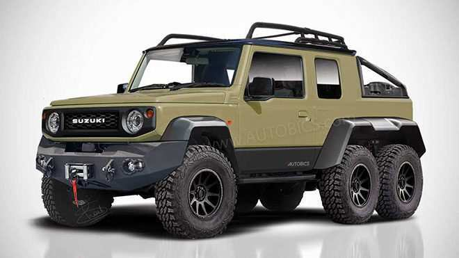 99 The Best 2019 Suzuki Jimny Concept And Review
