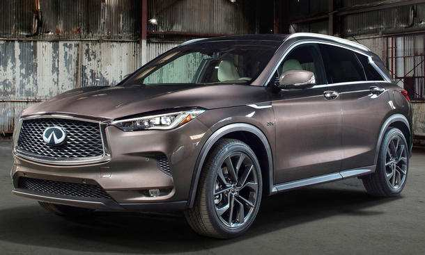 11 All New The Infiniti Qx50 2019 Hybrid Concept Interior