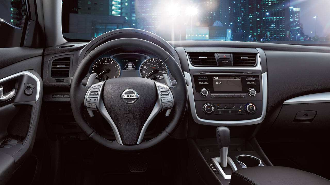 12 All New Nissan Altima Interior Model