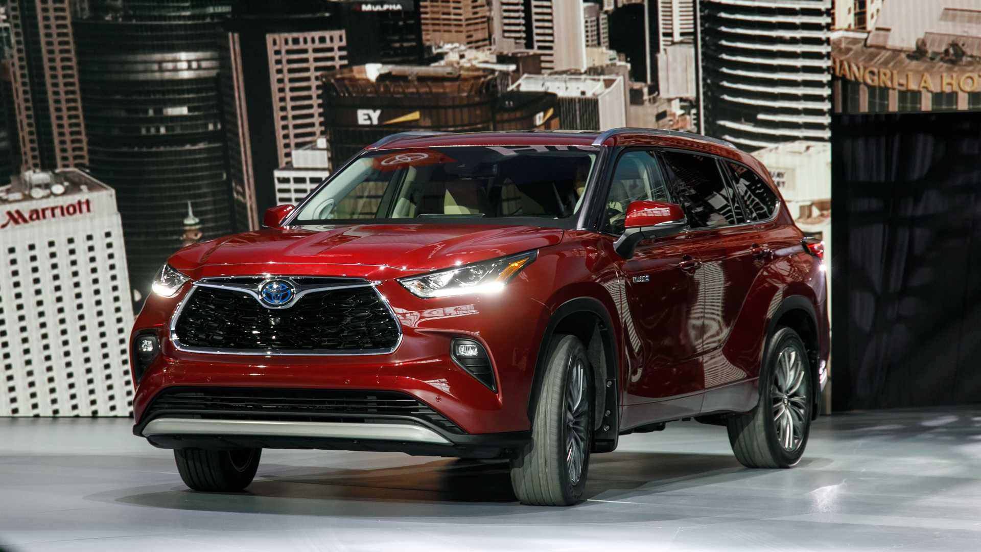 12 All New The Toyota Highlander 2019 Redesign Concept Performance