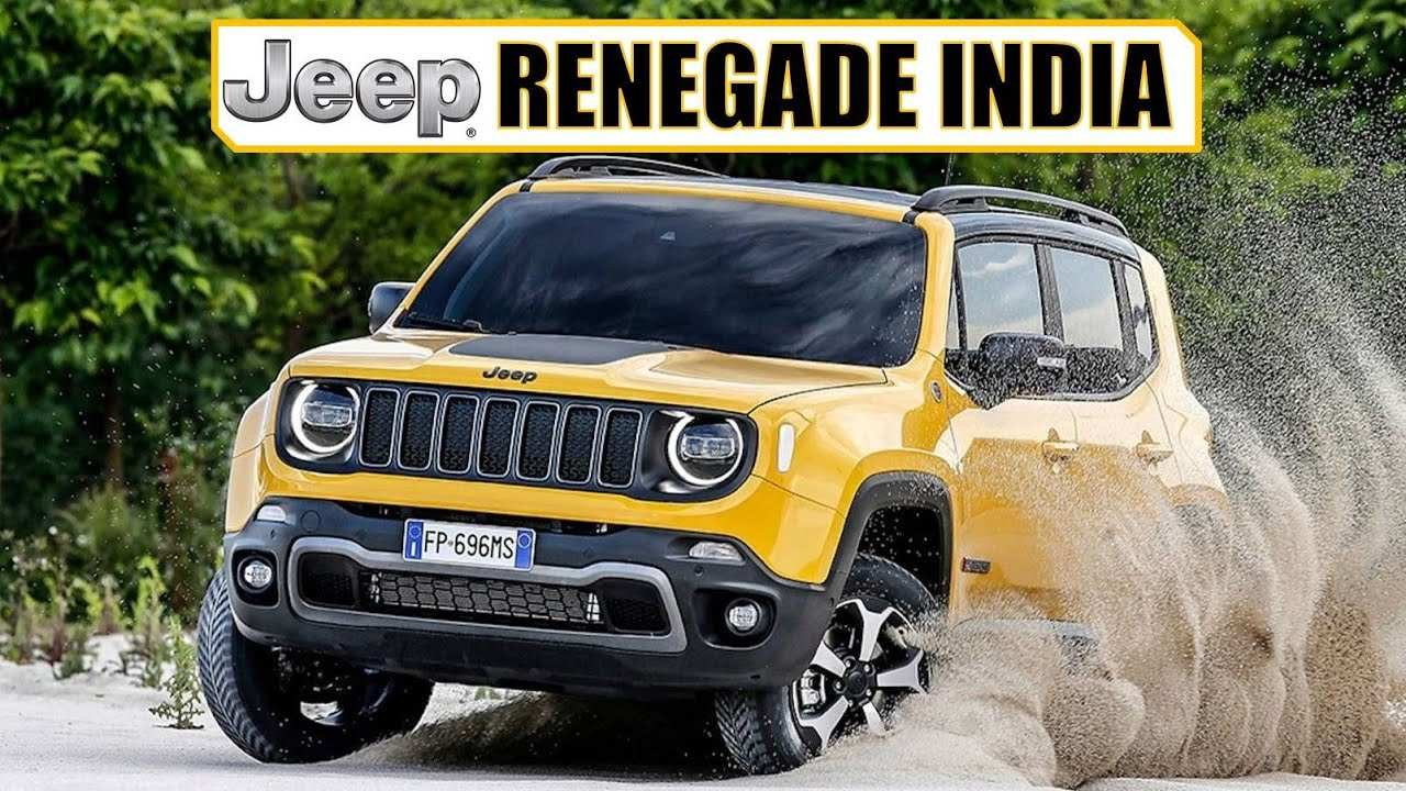 14 A The Jeep Renegade 2019 India New Review Pricing