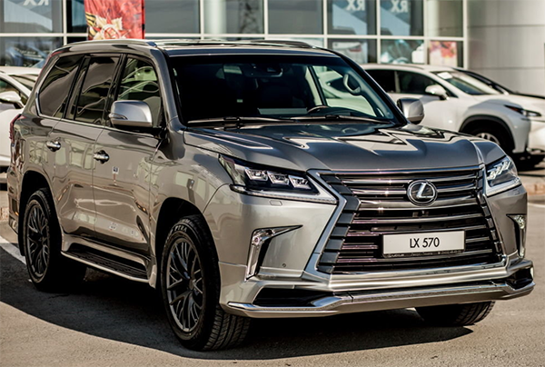 14 The Lexus Lx 570 Year 2020 Specs
