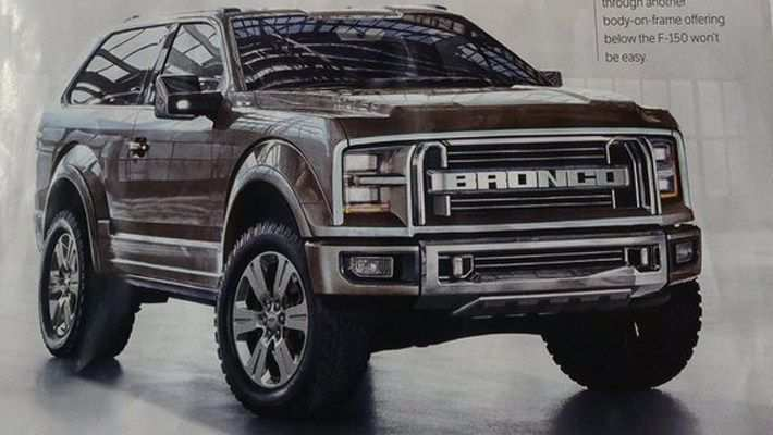 15 A Dwayne Johnson Ford Bronco 2020 Overview