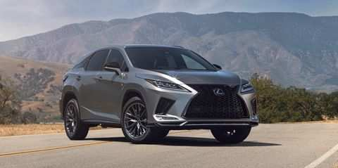 16 A Lexus Rx 2020 Facelift Release Date And Concept