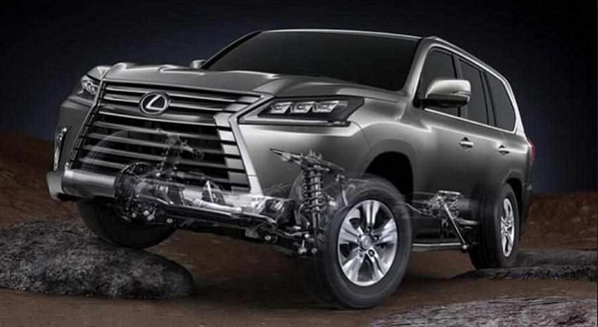 16 The Lexus Lx 570 Year 2020 Concept