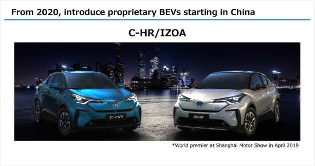 17 All New Toyota Ev 2020 Overview