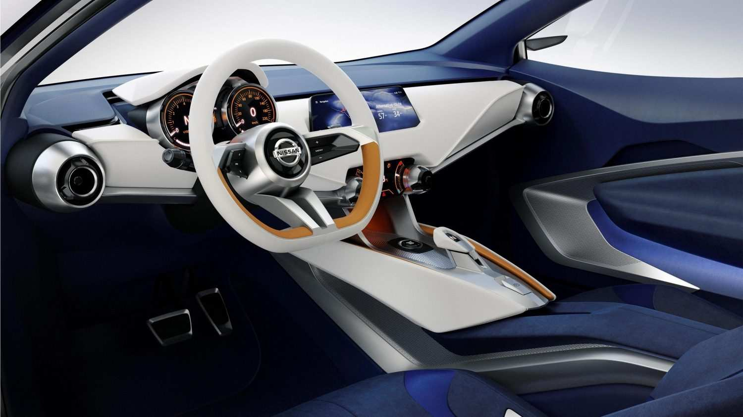 22 A Nissan Concept 2020 Interior History