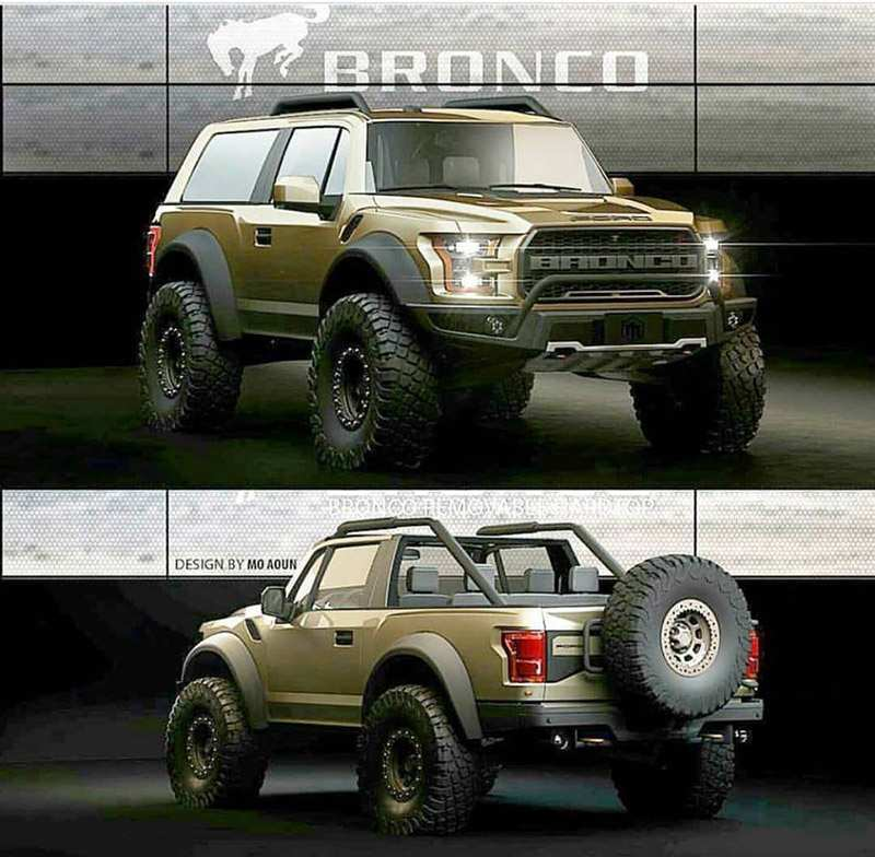 22 All New Dwayne Johnson Ford Bronco 2020 Review And Release Date