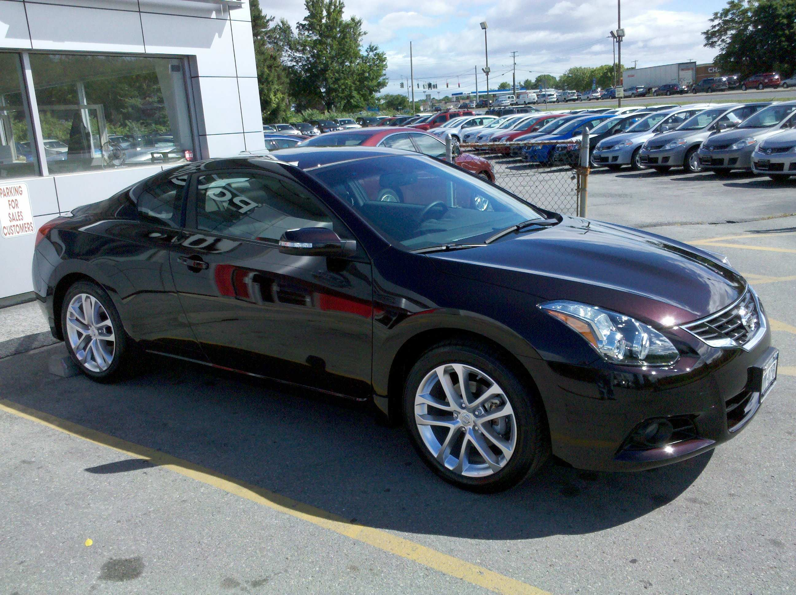 24 The 2010 Nissan Altima Coupe Ratings