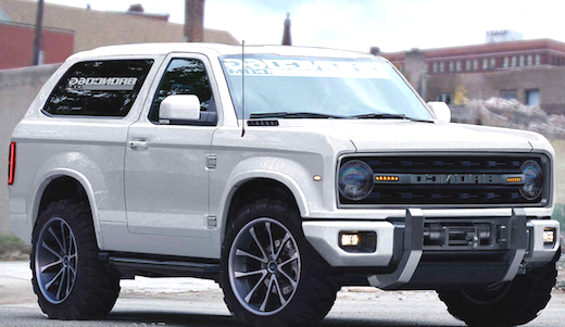 26 A Ford Bronco 2020 Uk Price Design And Review