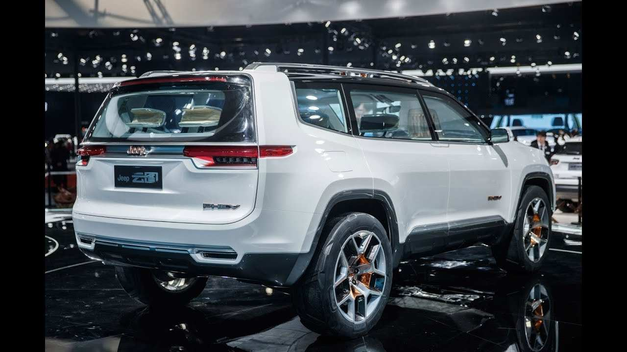 26 All New 2020 Jeep Wagoneer And Grand Wagoneer Exterior