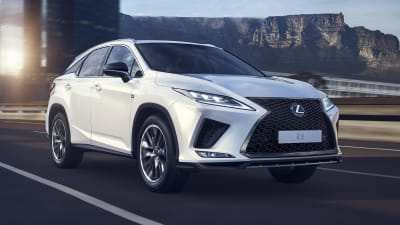 28 New Lexus Rx 2020 Facelift Redesign And Review