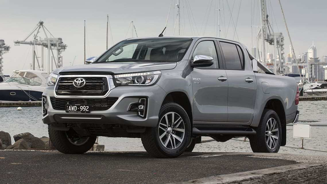 28 The Toyota Diesel Pickup 2020 First Drive