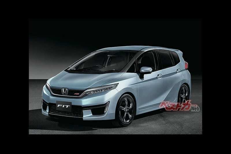 29 A Honda Jazz 2020 Concept Speed Test
