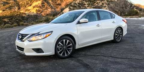 29 The 2018 Nissan Altima Reviews New Review