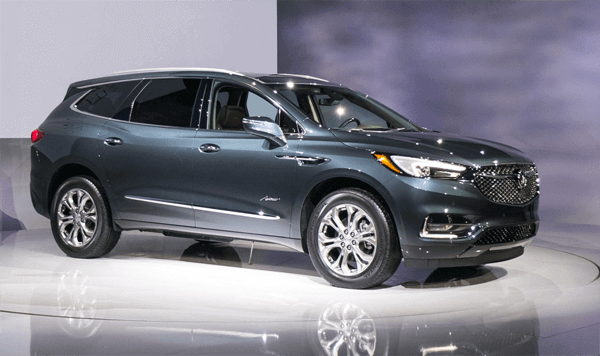 31 All New The 2019 Buick Enclave Wheelbase Review Spy Shoot