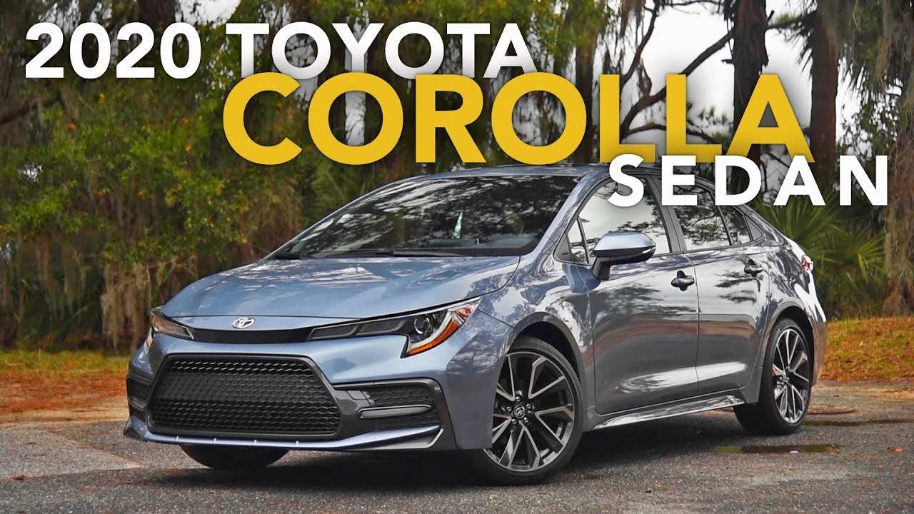 31 New Toyota Corolla 2020 Sedan Specs