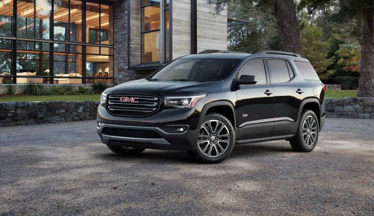32 New Gmc 2019 Acadia Price And Release Date Model