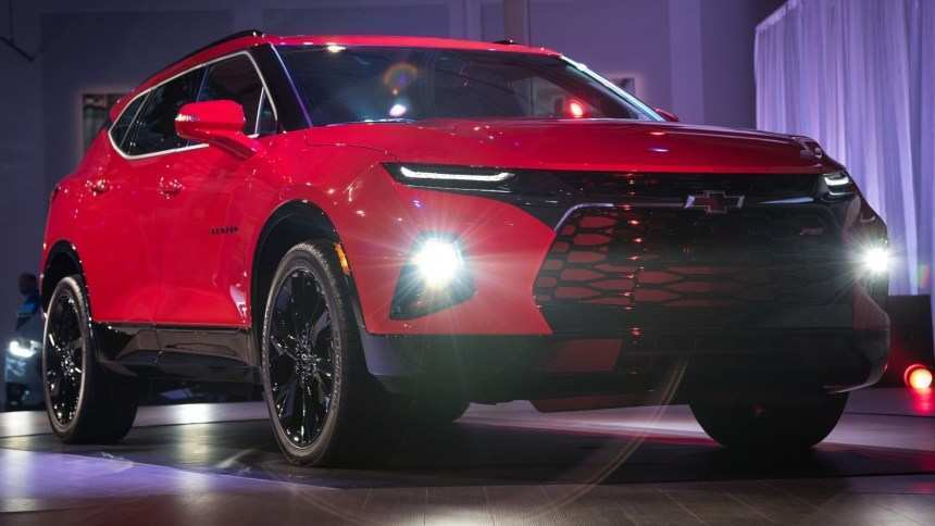 34 The 2019 Chevrolet Blazer K 5 Exterior And Interior