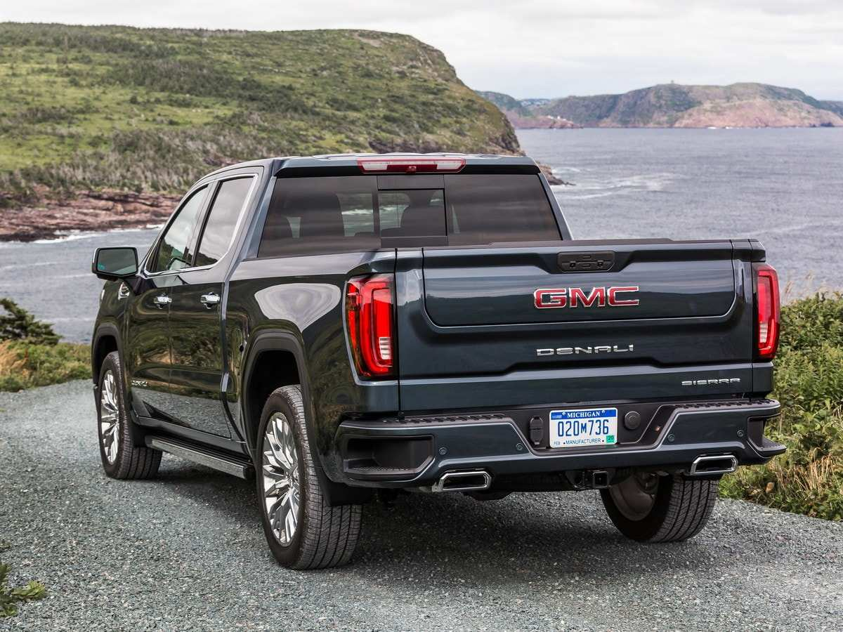 36 New 2020 Gmc Sierra Mpg Spesification
