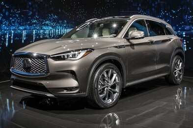 36 The The Infiniti Qx50 2019 Hybrid Concept Pictures
