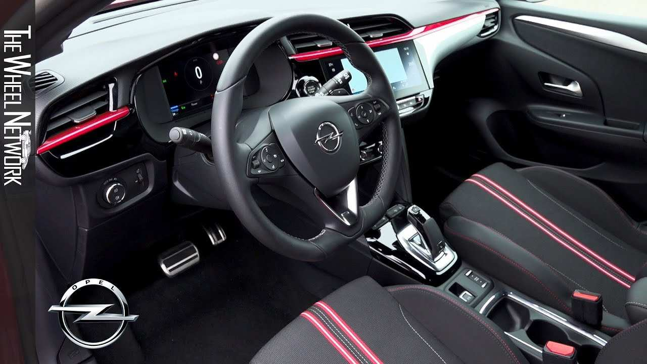 38 A Opel Corsa 2020 Interior Rumors