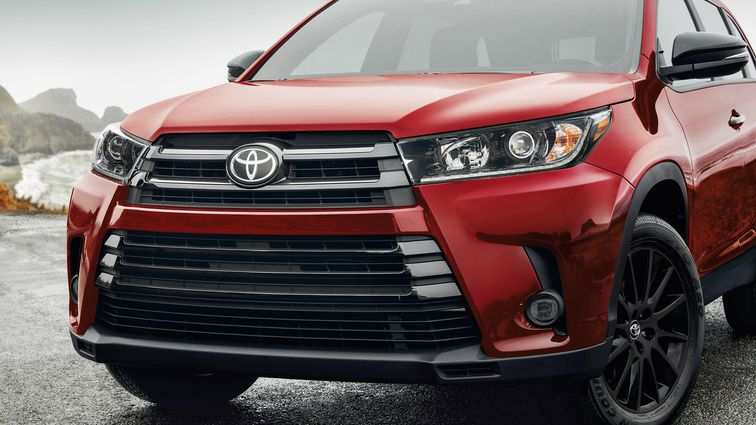39 A The Toyota Highlander 2019 Redesign Concept Price And Release Date