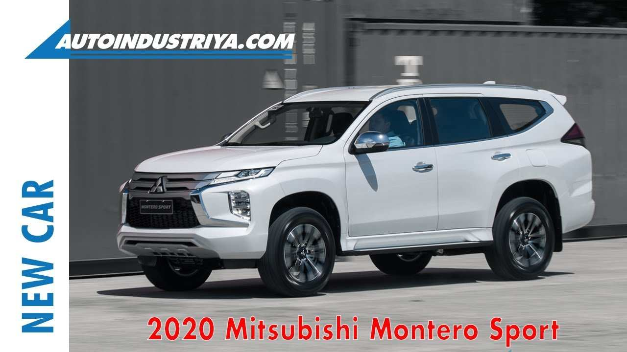 39 The Mitsubishi Shogun Sport 2020 Engine