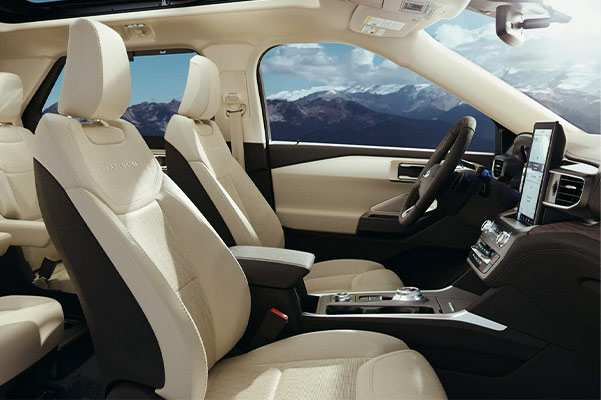 45 A 2020 Ford Explorer Interior Concept And Review