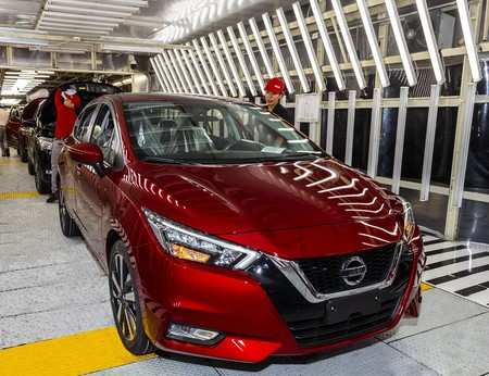 45 A Nissan Versa 2020 Mexico Research New