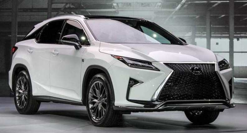45 The Best 2020 Lexus Rx Release Date Exterior And Interior
