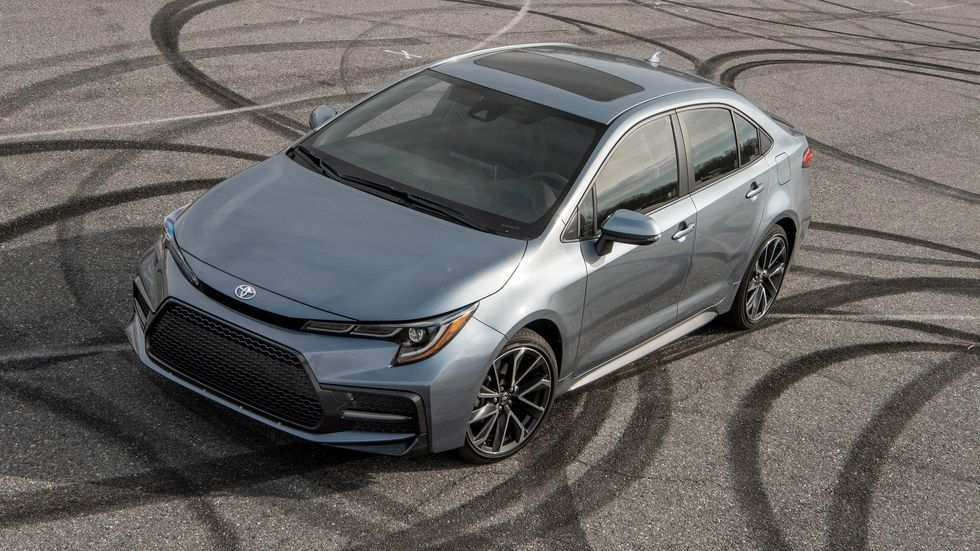 46 The 2020 Toyota Corolla Xse Wallpaper