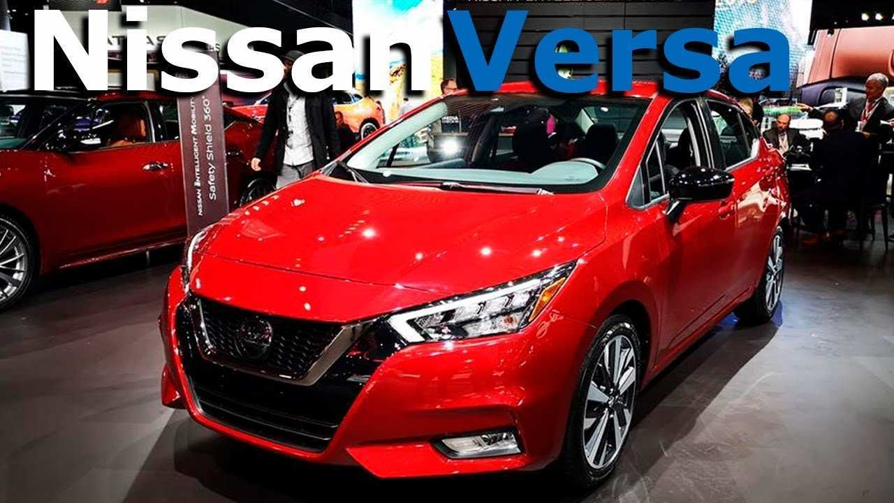 48 A Nissan Versa 2020 Mexico Specs And Review