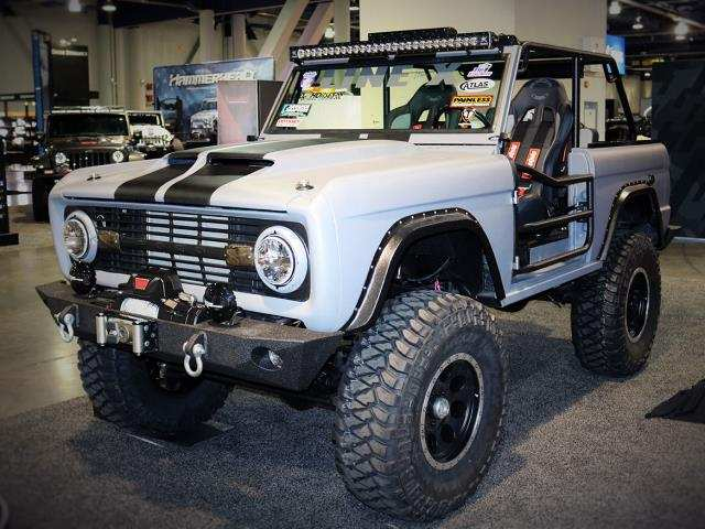 48 New Dwayne Johnson Ford Bronco 2020 Exterior