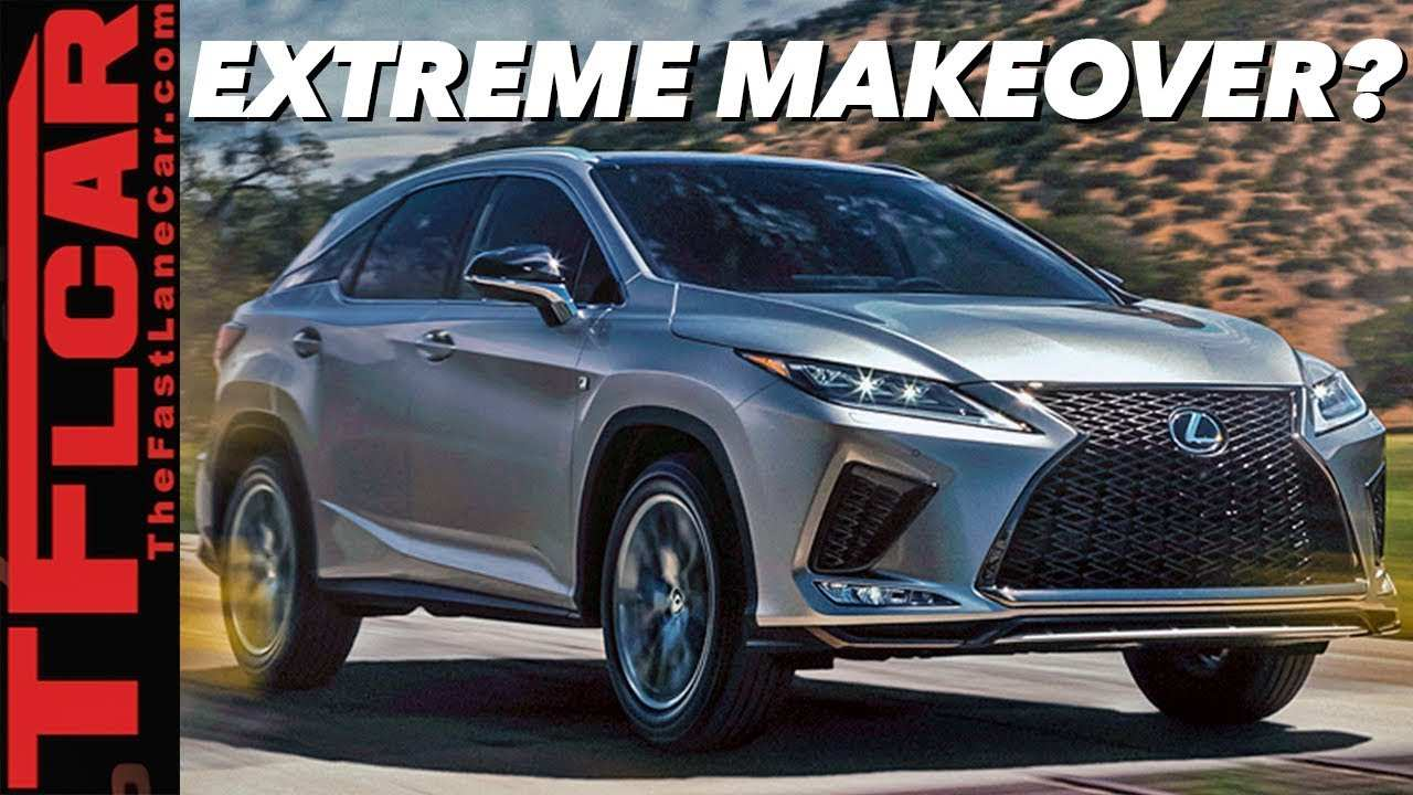 49 All New Lexus Rx 2020 Facelift Pricing