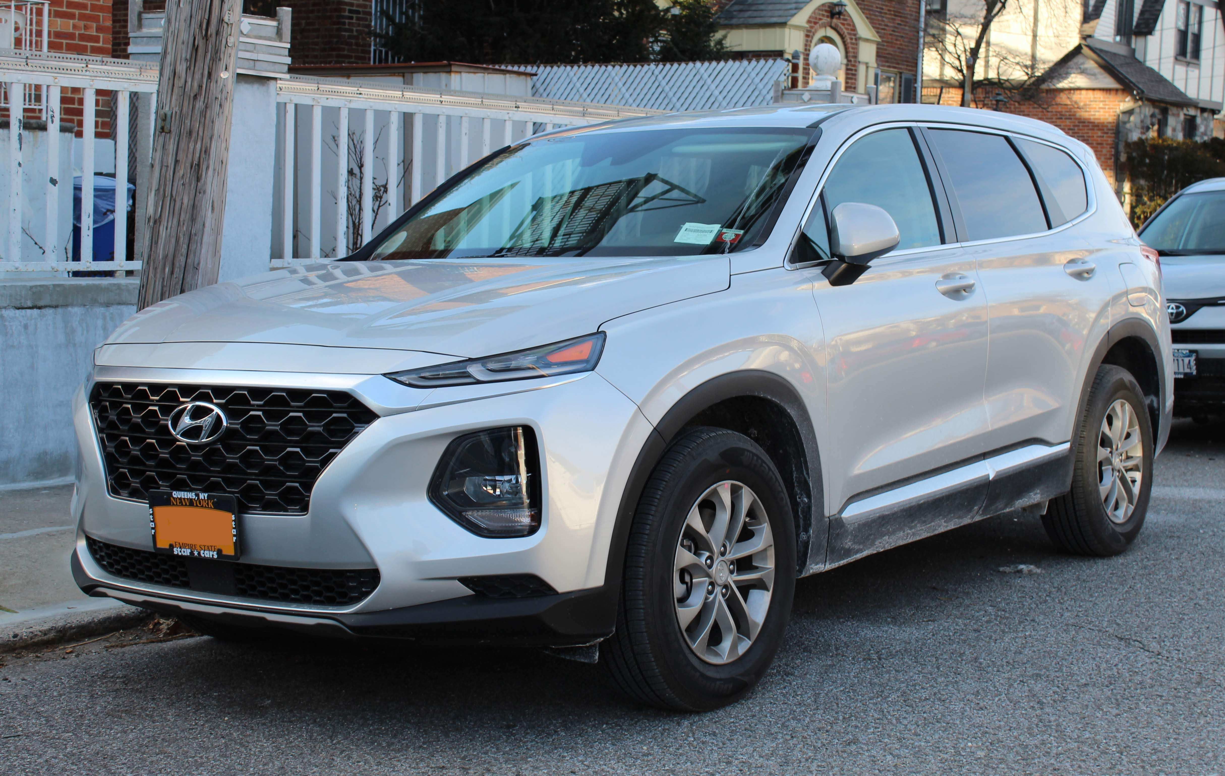 50 A The Santa Fe Kia 2019 Rumors Interior