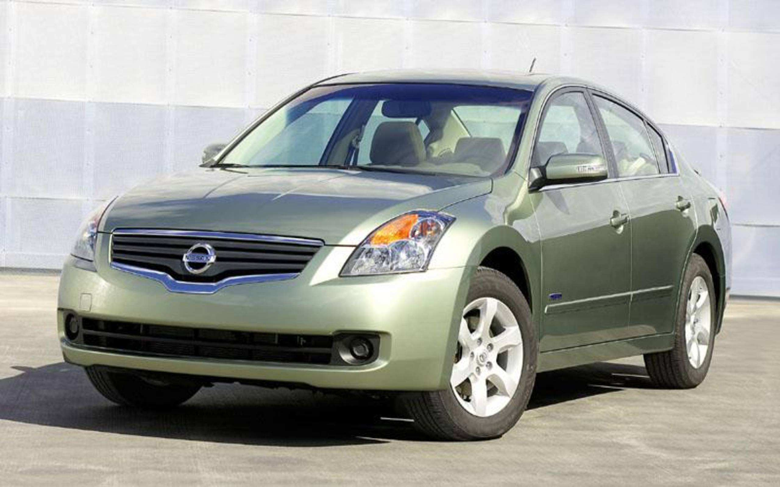 53 All New 2007 Nissan Altima Hybrid Performance And New Engine