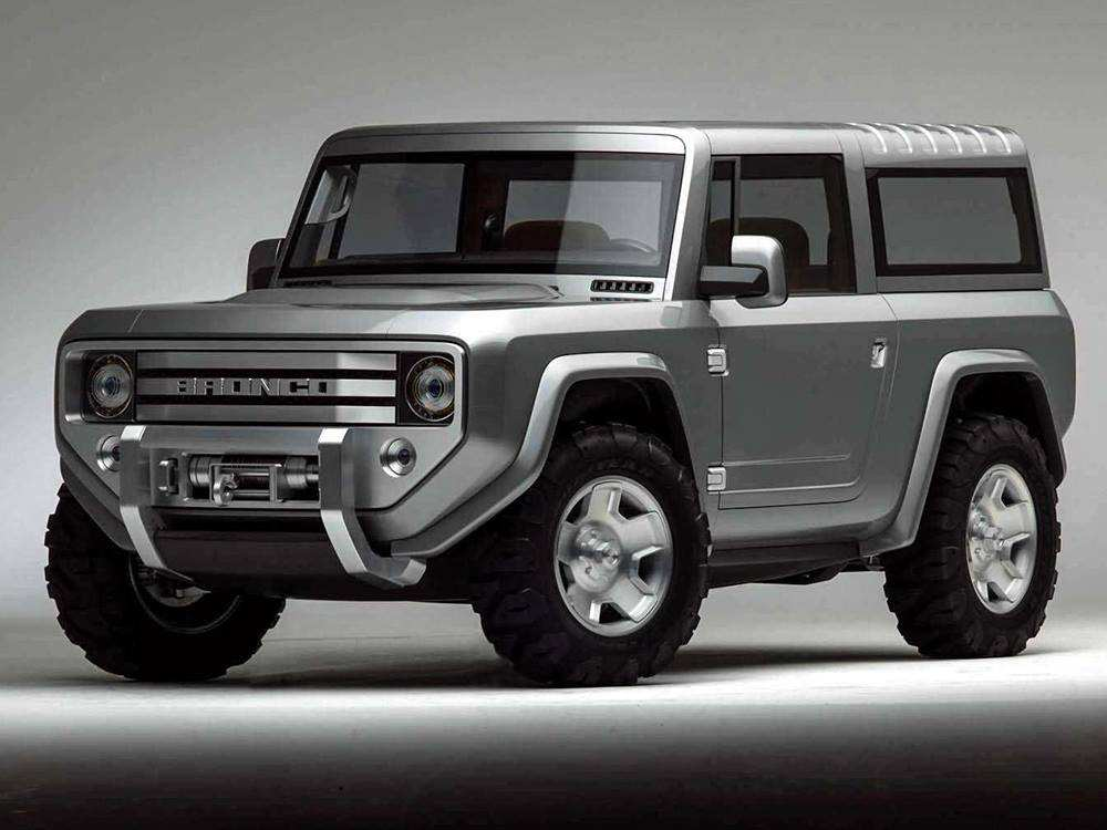 53 Best Dwayne Johnson Ford Bronco 2020 Concept And Review