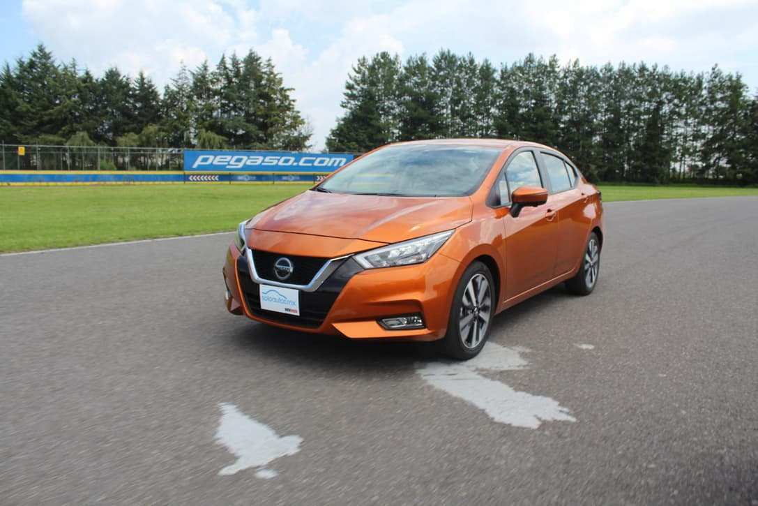 53 The Nissan Versa 2020 Mexico First Drive