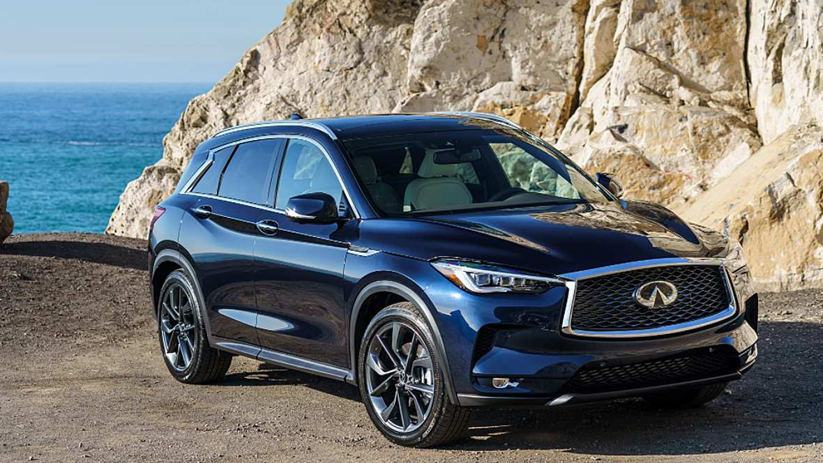 54 A The Infiniti Qx50 2019 Hybrid Concept Photos