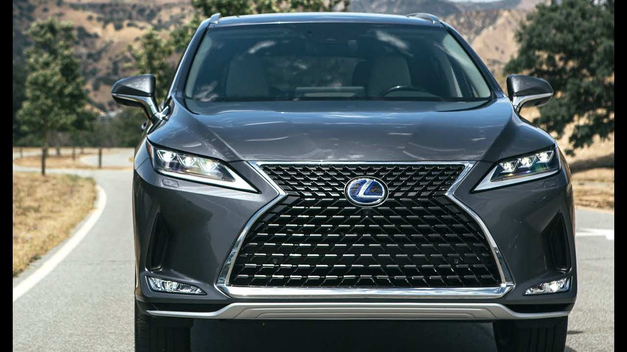 54 New Lexus Rx 2020 Facelift Price And Release Date