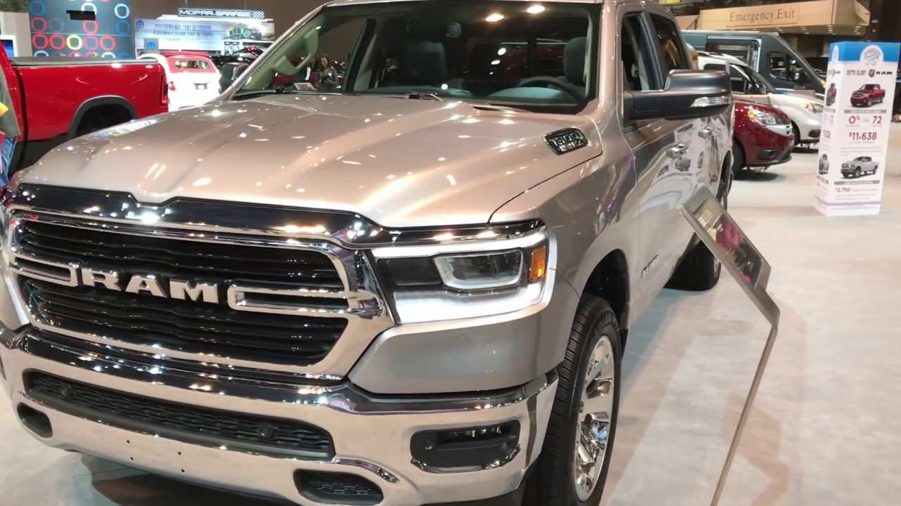 54 The New 2019 Dodge Ram 4X4 Specs Engine