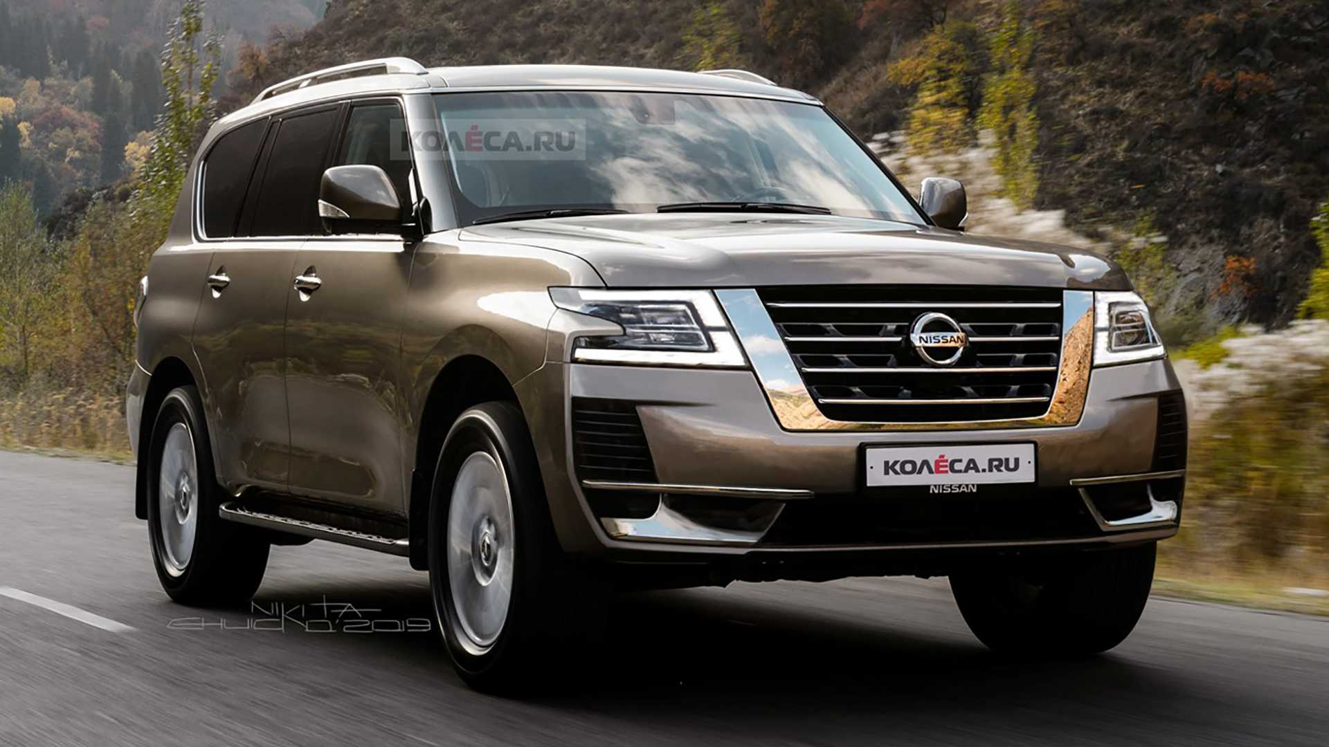 56 The Best Nissan Patrol 2020 Redesign Pictures