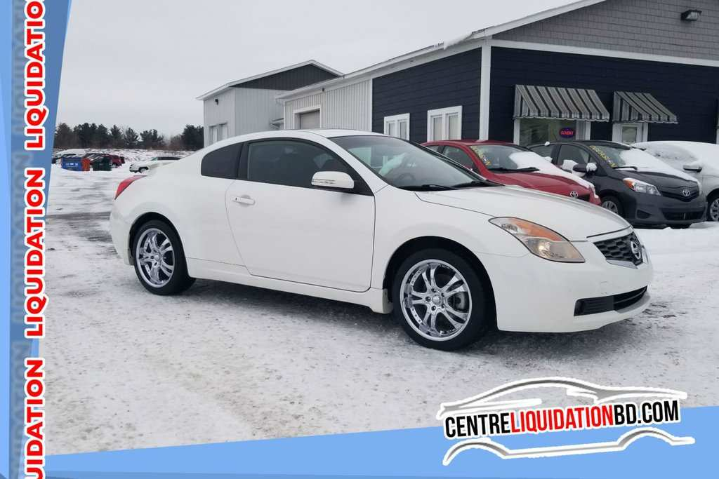 57 A Nissan Altima Coupe 2008 Specs