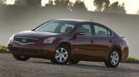 57 The 2007 Nissan Altima Hybrid New Model And Performance