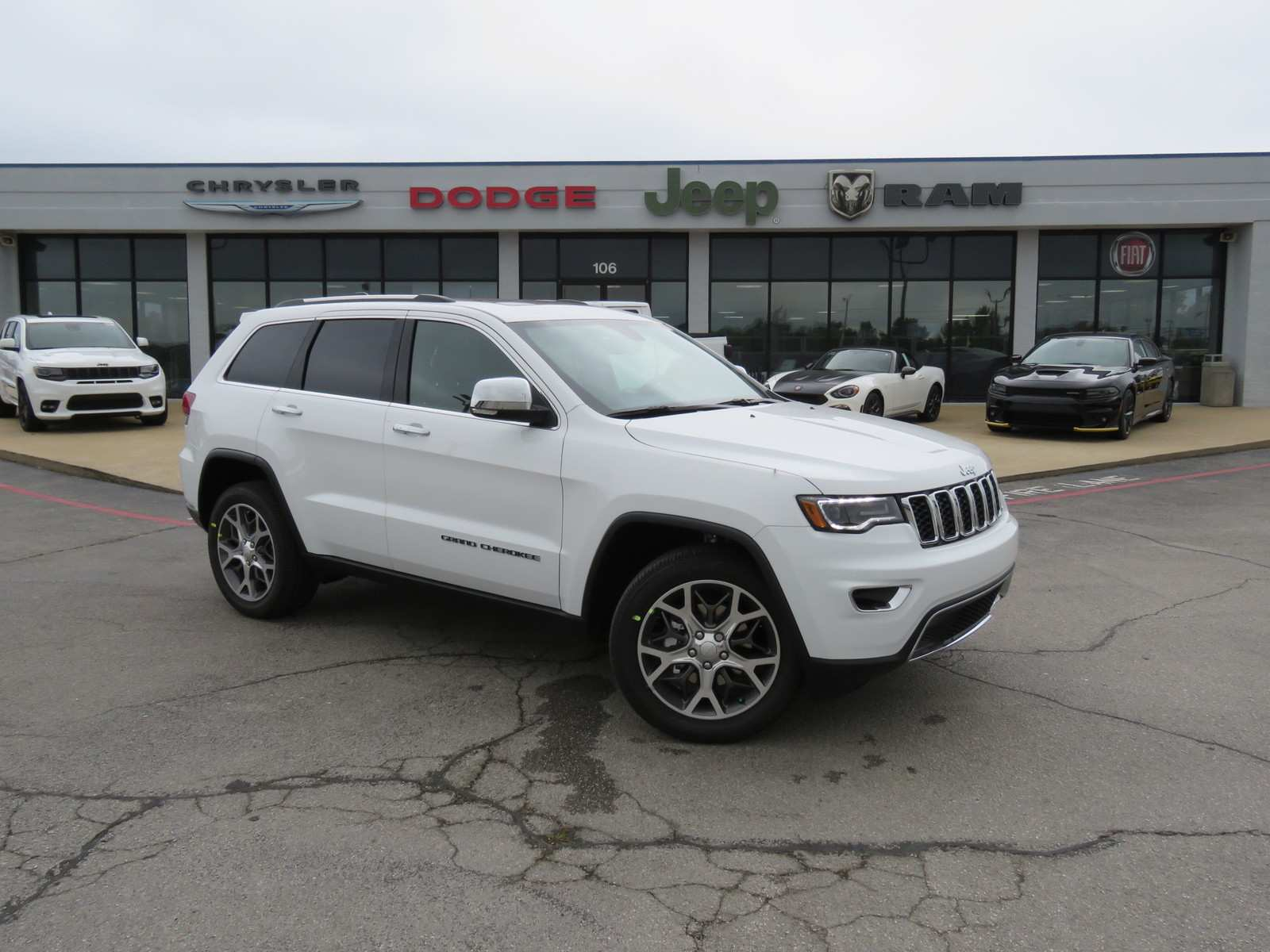 58 The Jeep Cherokee Limited 2020 Configurations